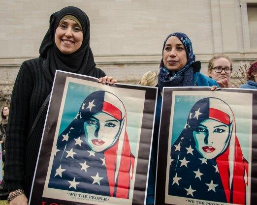 American Flag Hijabs