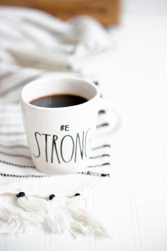Be Strong Coffee Mug